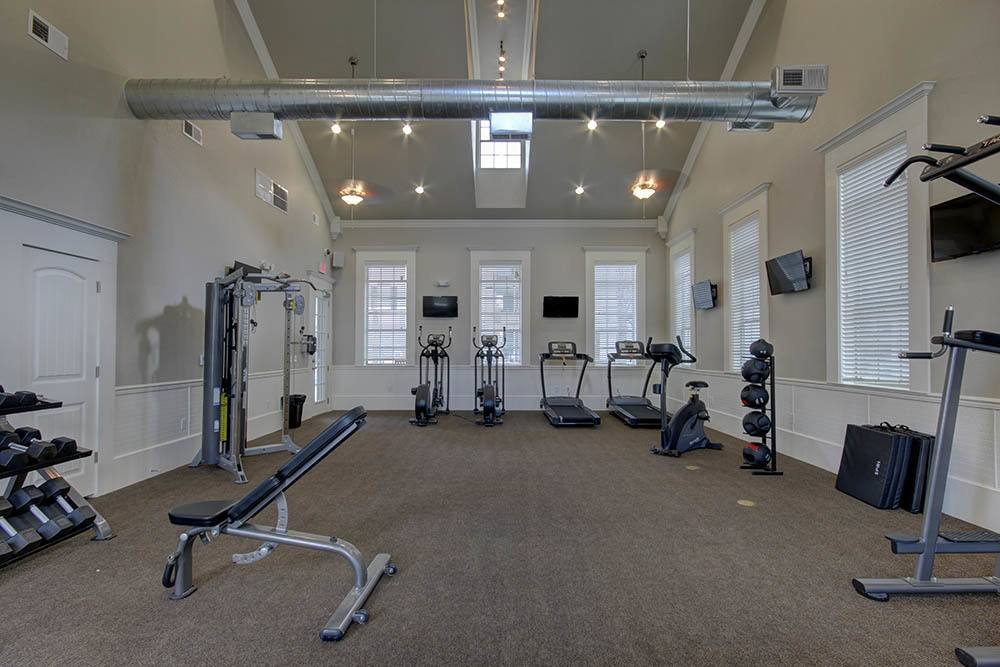 Fitness Center At Waterview Apartment Homes