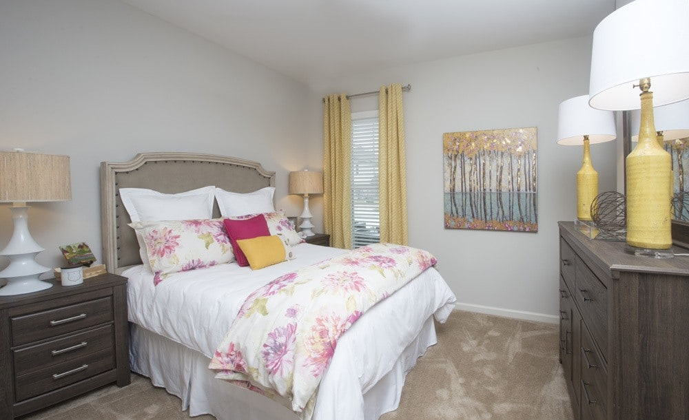 Master Bedrooms at  Belle Savanne Apartment Homes