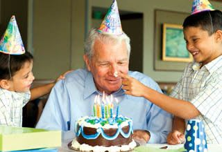 Have a happy birthday with grandpa at Rittenhouse Village