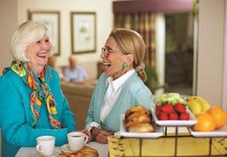 Information about the amenities available at Valparaiso senior living!