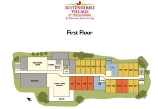 Senior living community in Reading PA site plan