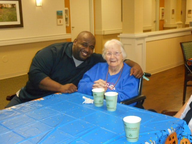 Seniors engaging with caregivers  Burr Ridge