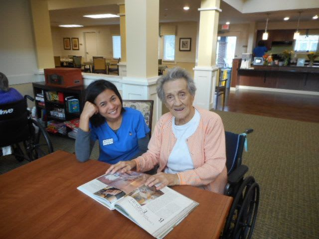 senior resident and staff