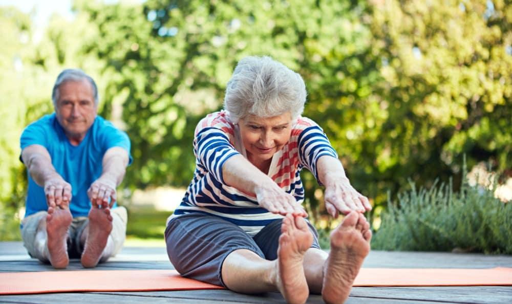 Our Murrieta senior care options include exercising