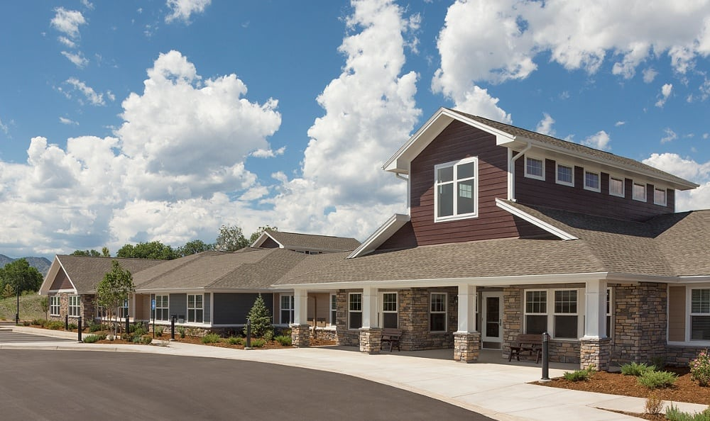 Front of our senior care facility in Littleton