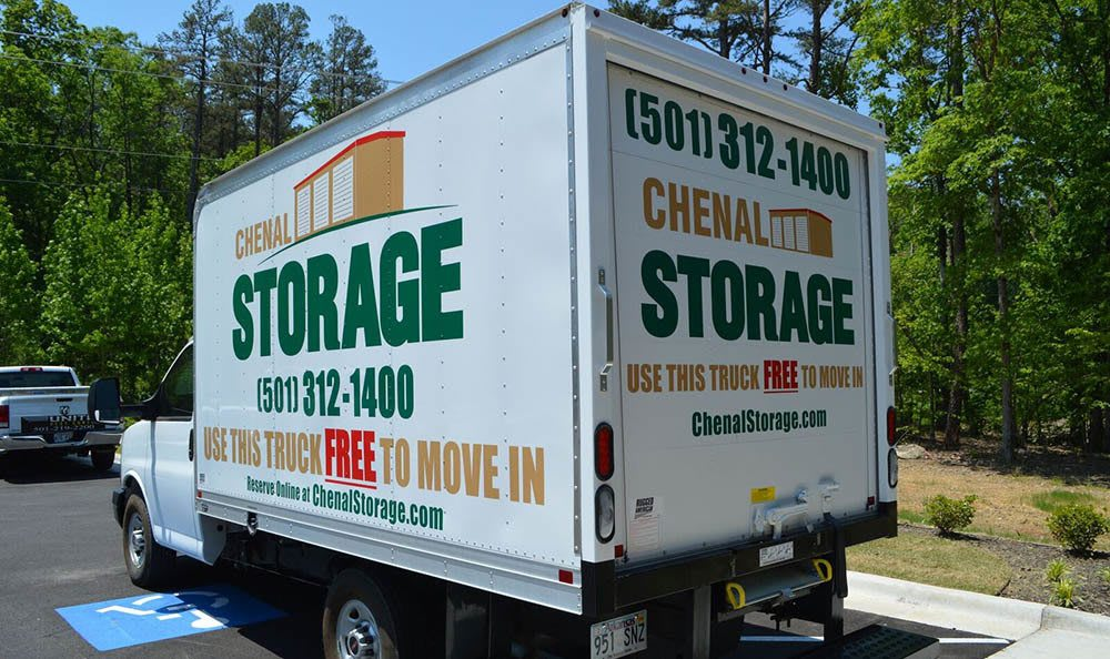 Chenal Storage Center Moving Truck