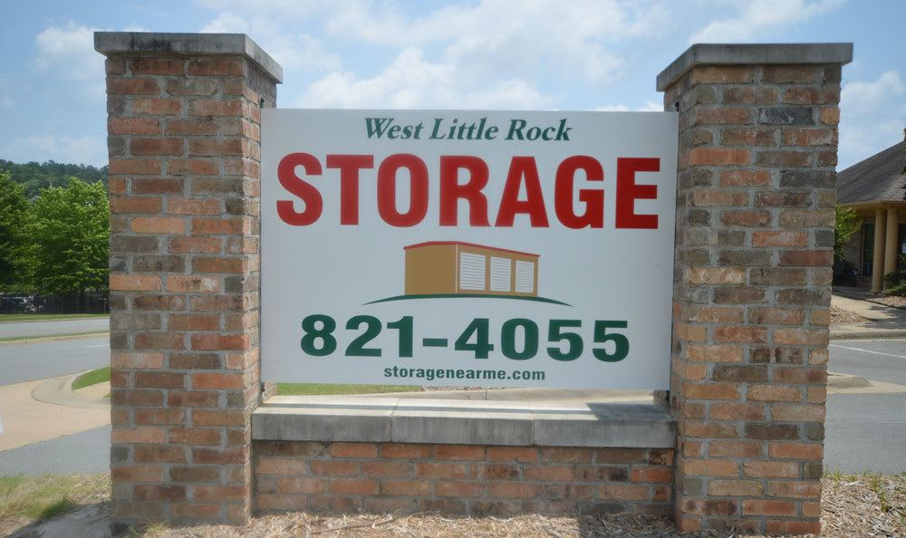 Entrance at West Little Rock Storage