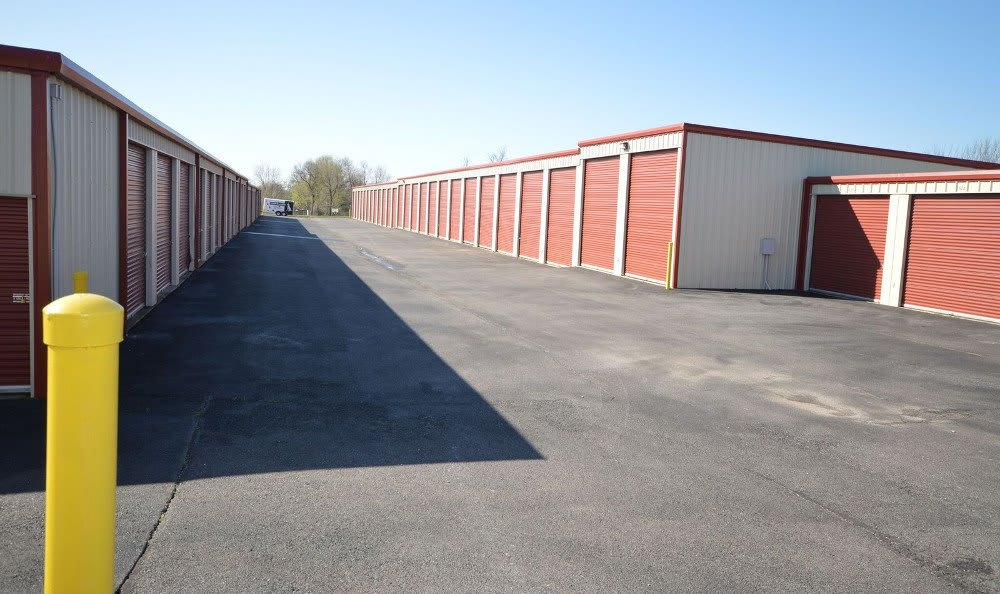 Self storage units in Rogers, AR