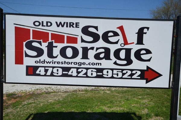 Our storage unit features at Old Wire Storage