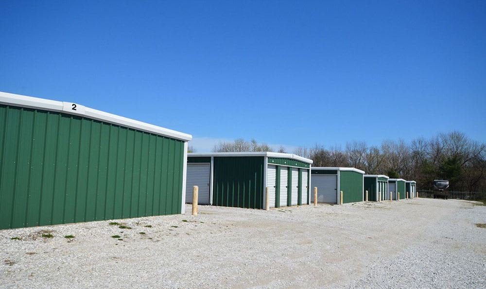 Some of our units at Old Wire Storage