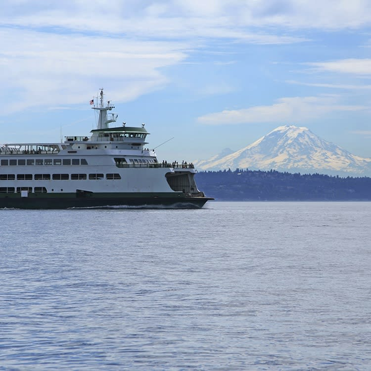 Ferry transportation near SEB Inc apartments in Washington