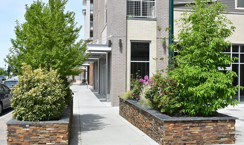 Exterior Of Apartments In University Place Washington