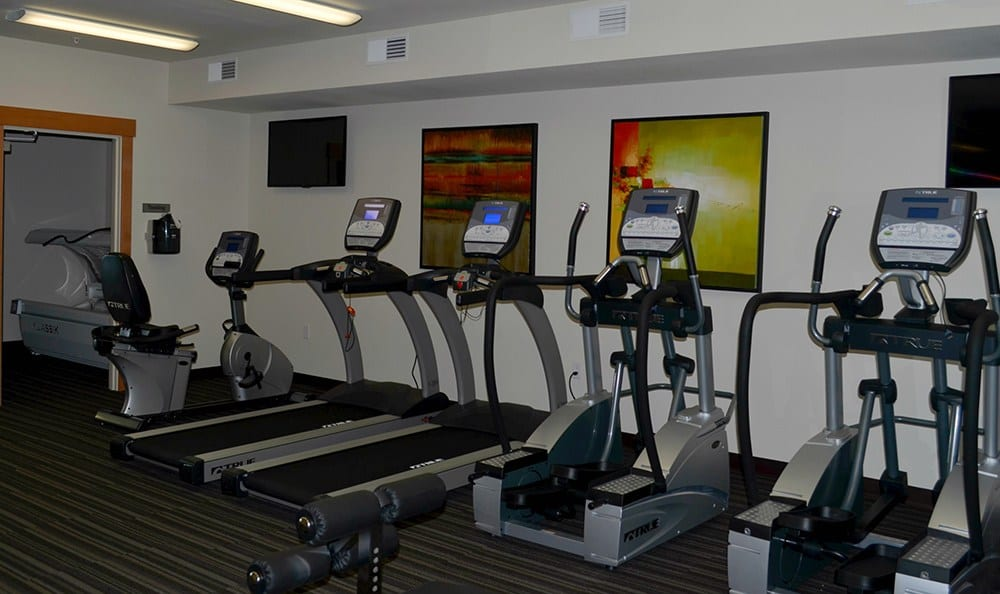 Fitness Center At Apartments In University Place Washington