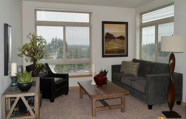 Spacious floor plans at Clearview 100 Apartment Homes