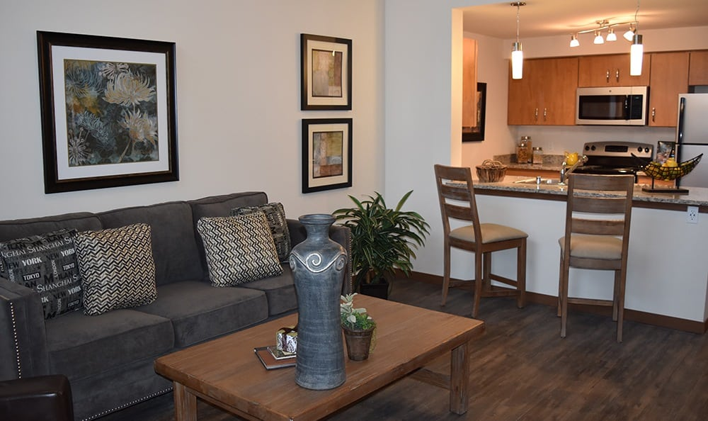 Open Floor Plans At Apartments In University Place Washington