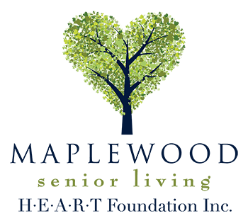 The Maplewood Senior Living HEART Foundation serves our associates and their family members.