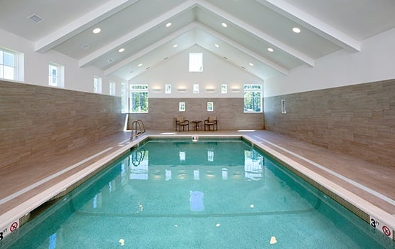 The swimming pools at Maplewood Senior Living communities are gorgeous.
