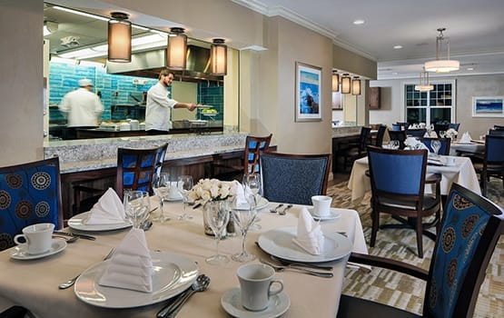 Dining at Maplewood Senior Living communities is an experience not to be missed; schedule your personal tour today!