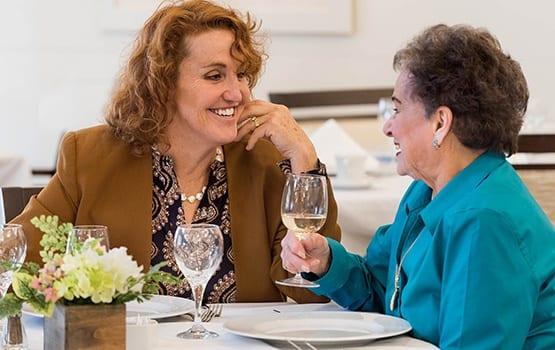 Luxuries abound at Maplewood Senior Living in Westport.
