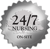 Mill Hill Residence has on-site certified nursing staff 24 hours a day.