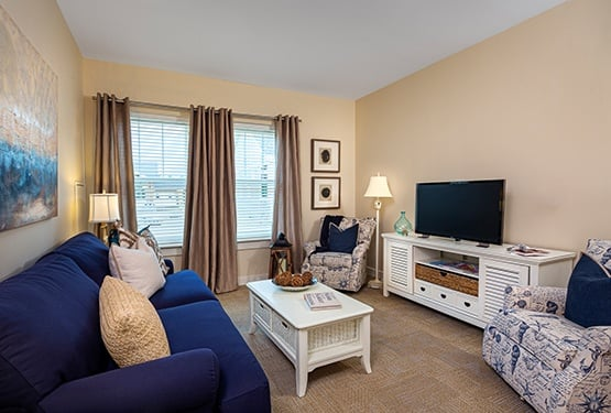 Enjoy a peaceful, restful respite at one of our Maplewood Senior Living communities