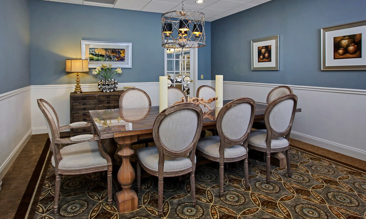 Maplewood at Danbury in Danbury, CT has private dining rooms available for residents and their guests.