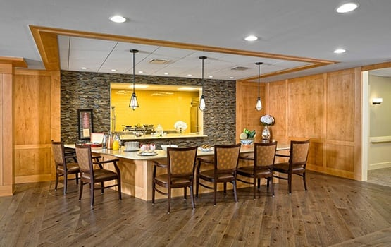 Maplewood at Newtown in Newtown, CT also has large private dining areas for special events!