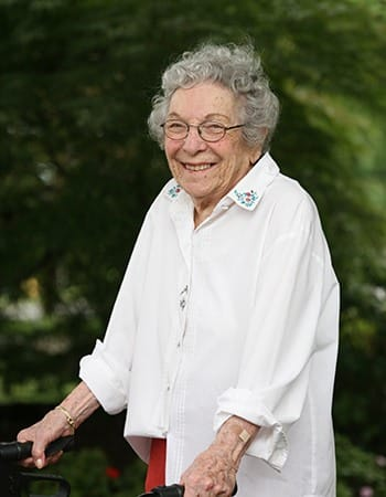 Our assisted living residents at Maplewood at Orange can get as much help as they desire; call us to learn more.