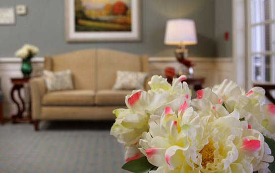 There are so many comfortable common areas to relax or socialize in at Maplewood at Orange.