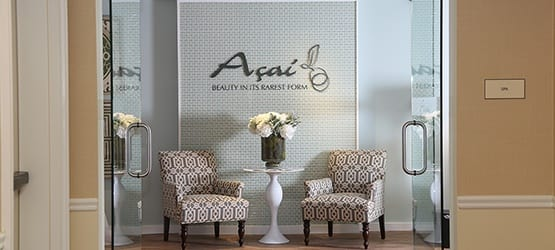 Get a new look, courtesy of our on-site Salon, Açai, here at Maplewood at Darien.