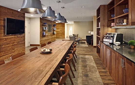 Maplewood at Stony Hill in Bethel, CT, offers warm and inviting living spaces for our residents.