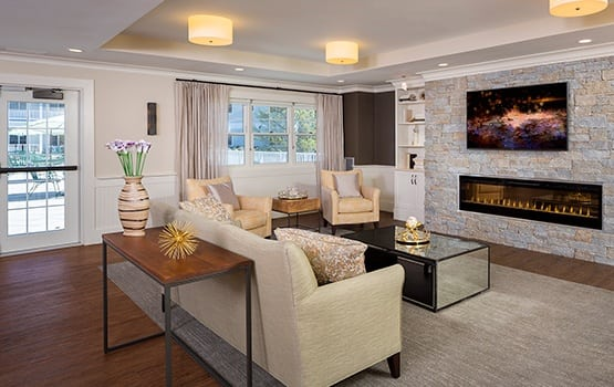 There is no shortage of beautiful, comfortable common areas for you to relax or socialize in here at Maplewood at Weston.