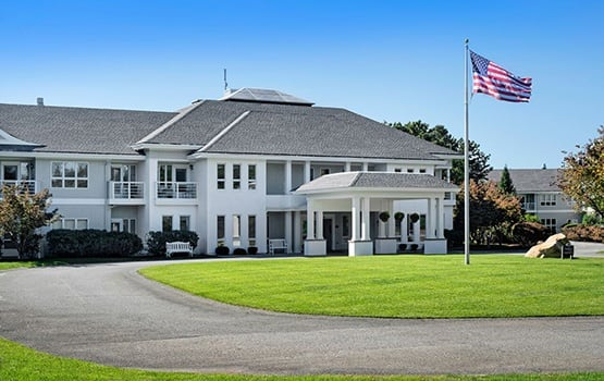 Maplewood at Mayflower Place in West Yarmouth, MA is gorgeously architected.