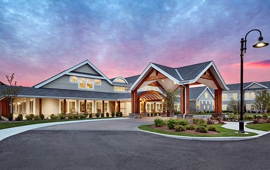 Maplewood at Brewster in Brewster, MA is an absolutely stunning senior living community.