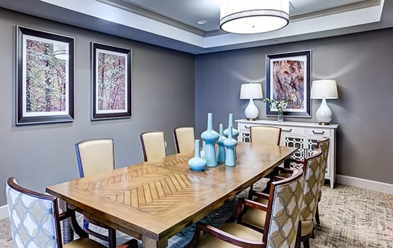 Maplewood at Cuyahoga Falls in Cuyahoga Falls, OH has private meeting rooms available for resident use.