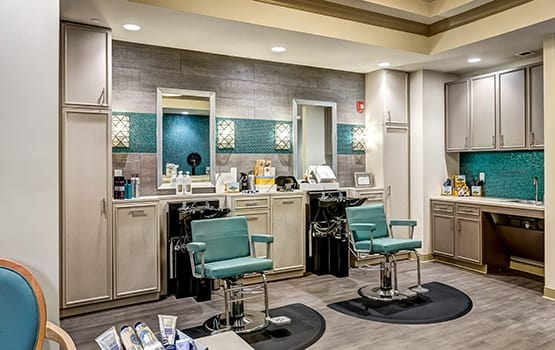 When you need to look your best, book an appointment at our on-site salon and spa, Açai.