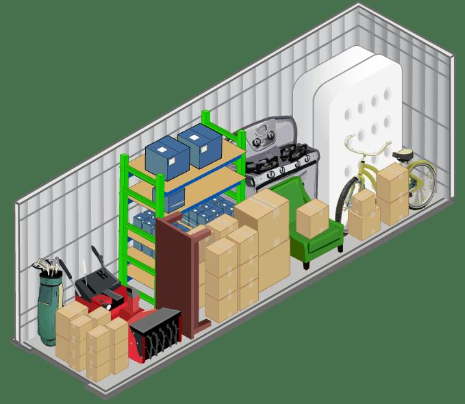 10x15 storage unit in Las Vegas