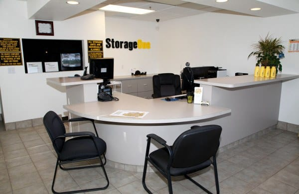 Office At Our Storage Facility In North Las Vegas