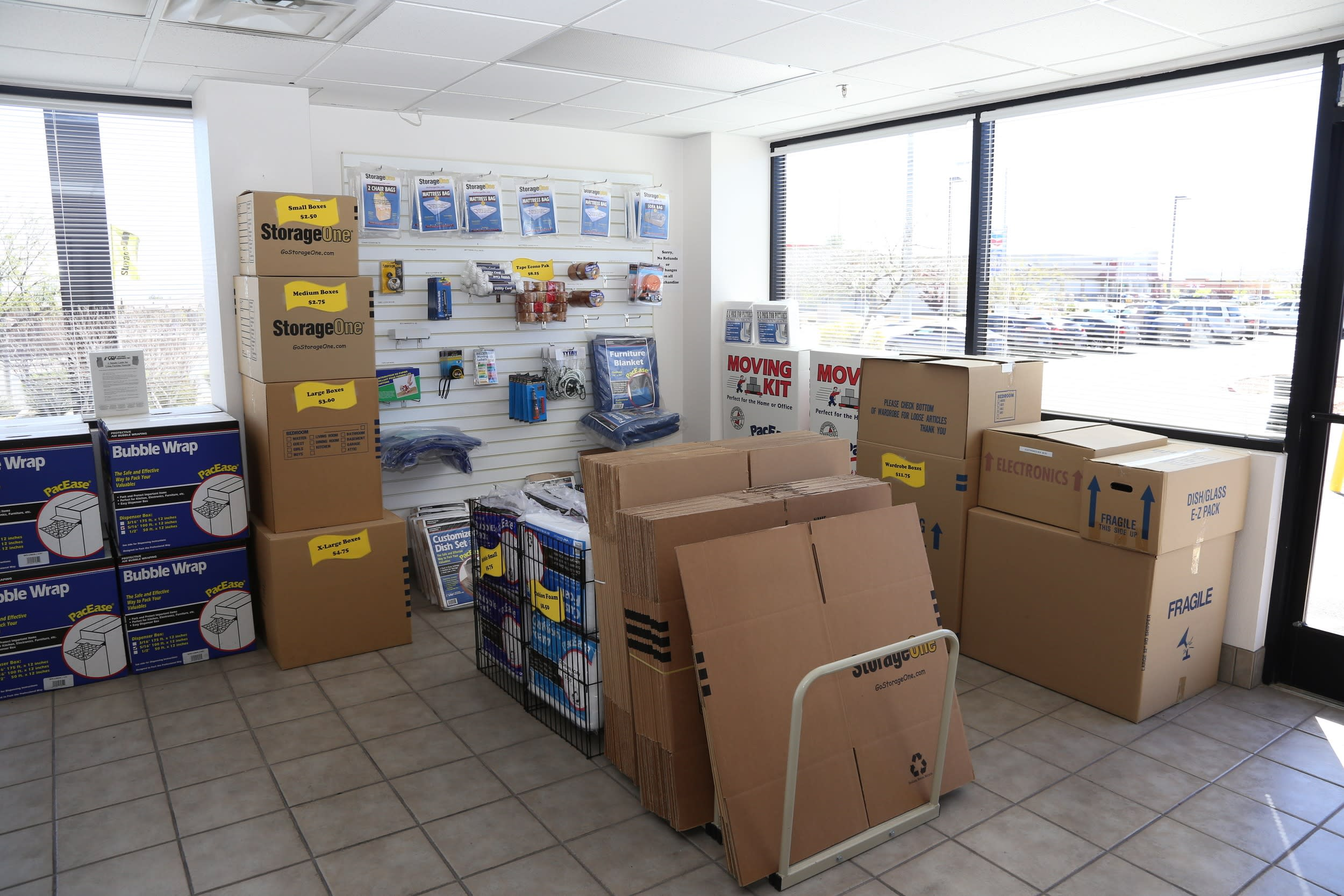 Contact us today for more information about self storage at StorageOne Mountain's Edge Blue Diamond & Durango