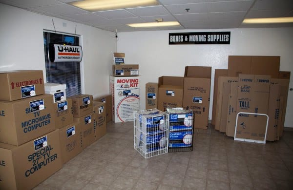 Boxes At Our Las Vegas Storage Facility