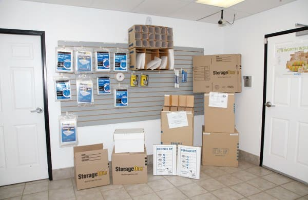 Moving Supplies At Las Vegas Storage Units
