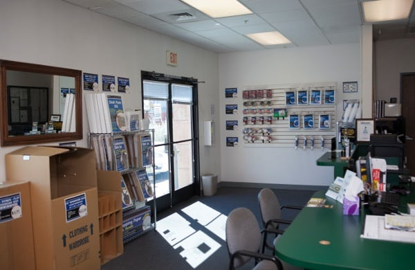 Inside Our Storage Office In Las Vegas Nv