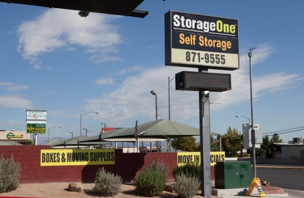 Sign At Our Storage Facility In Las Vegas
