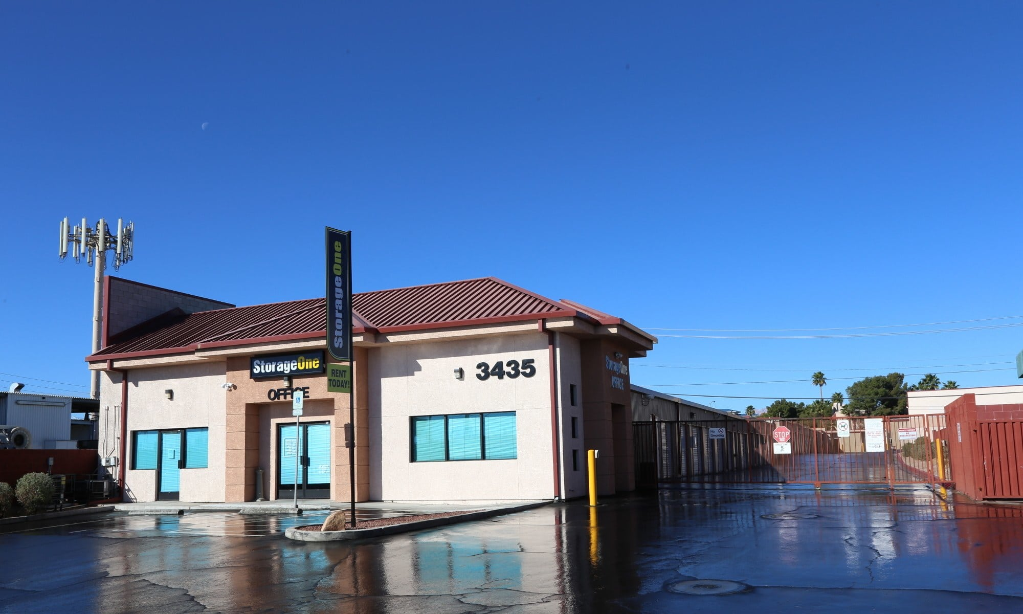 Self storage in Las Vegas NV