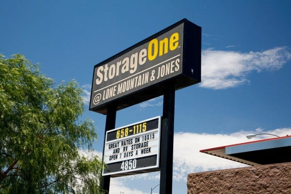 Las Vegas Storage Entrance
