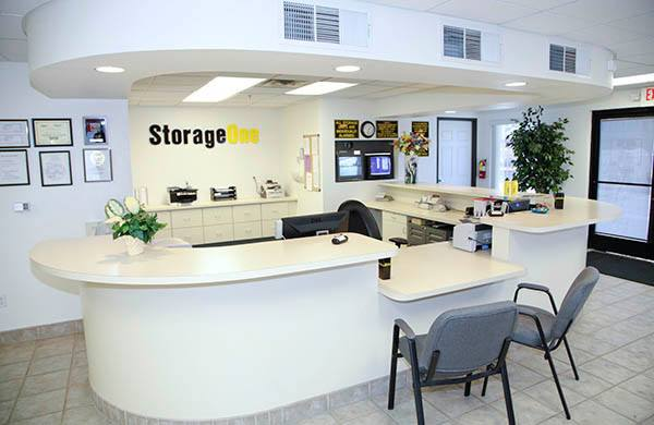 Self Storage In Henderson Office Lobby