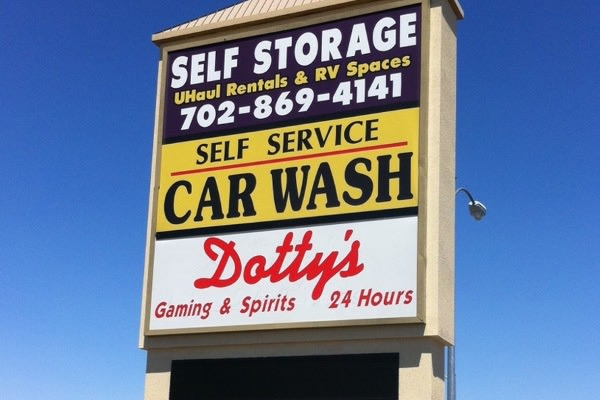 Our Sign At Las Vegas Storage Units