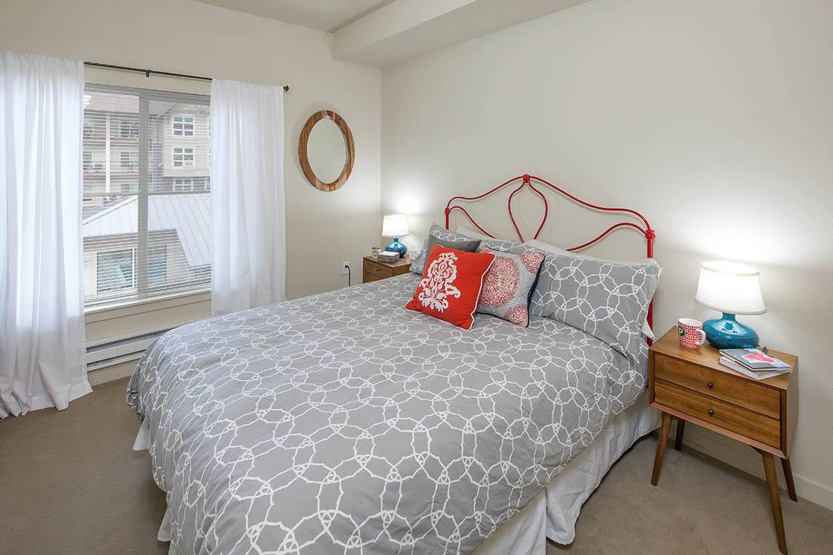 Guest Bedroom At Eddyline at Bridgeport In Portland