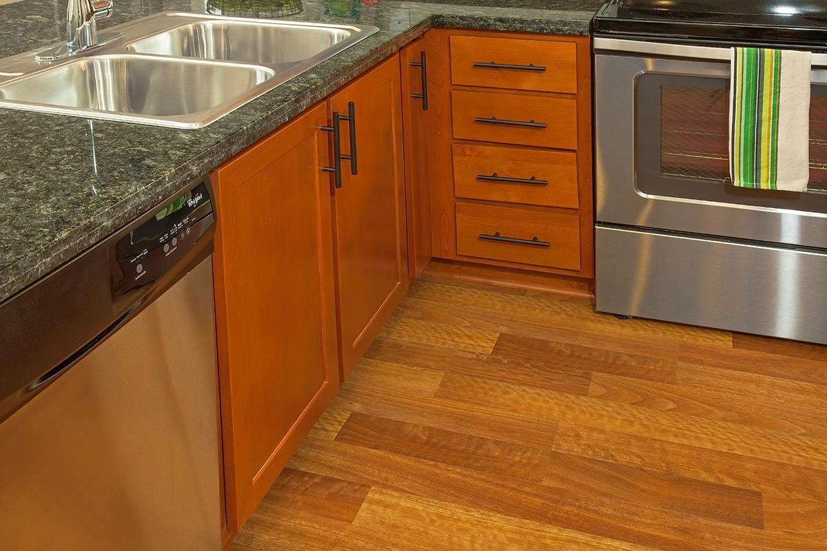 Hardwood Floors Offered At At Eddyline at Bridgeport In Portland