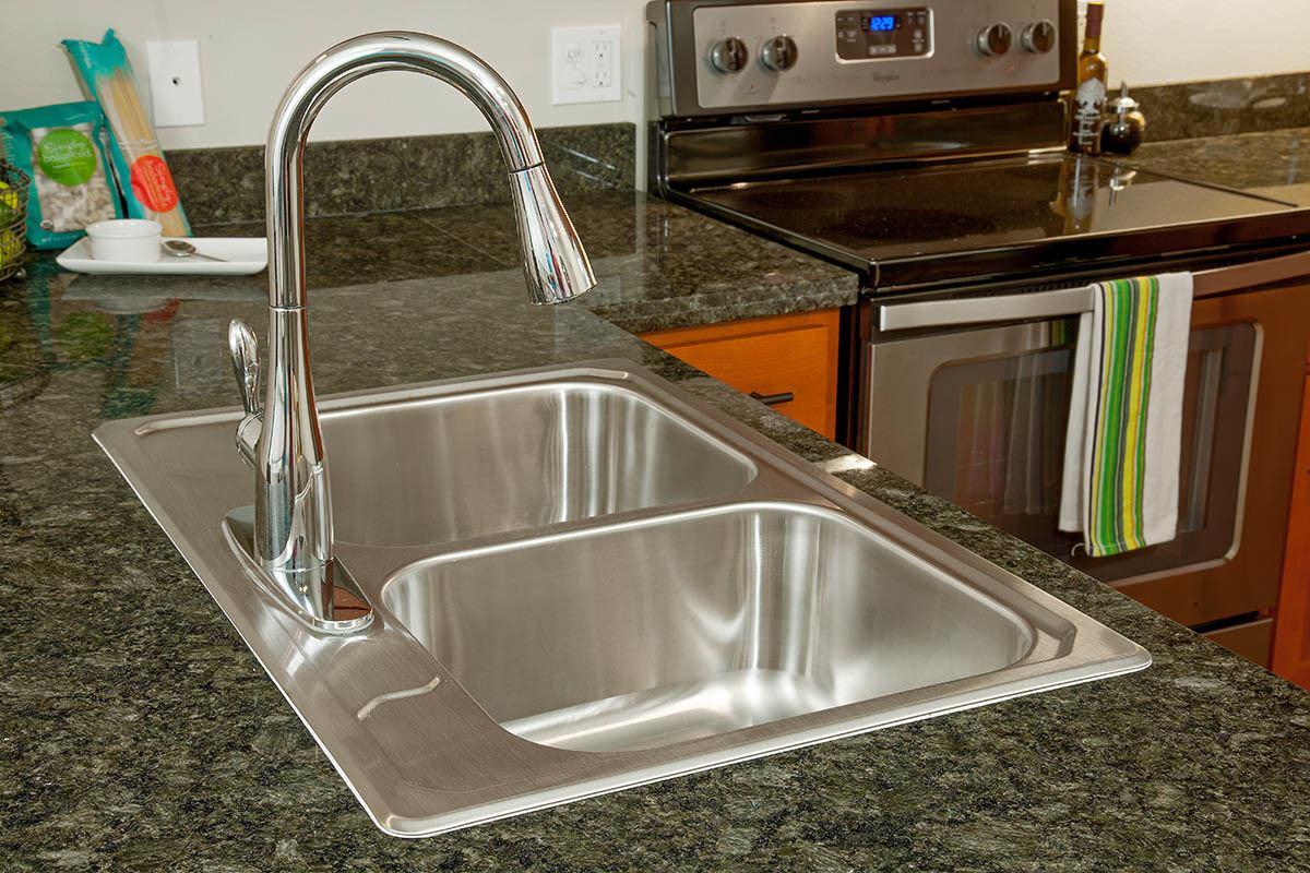 Stainless Steel Sink At Eddyline at Bridgeport In Portland
